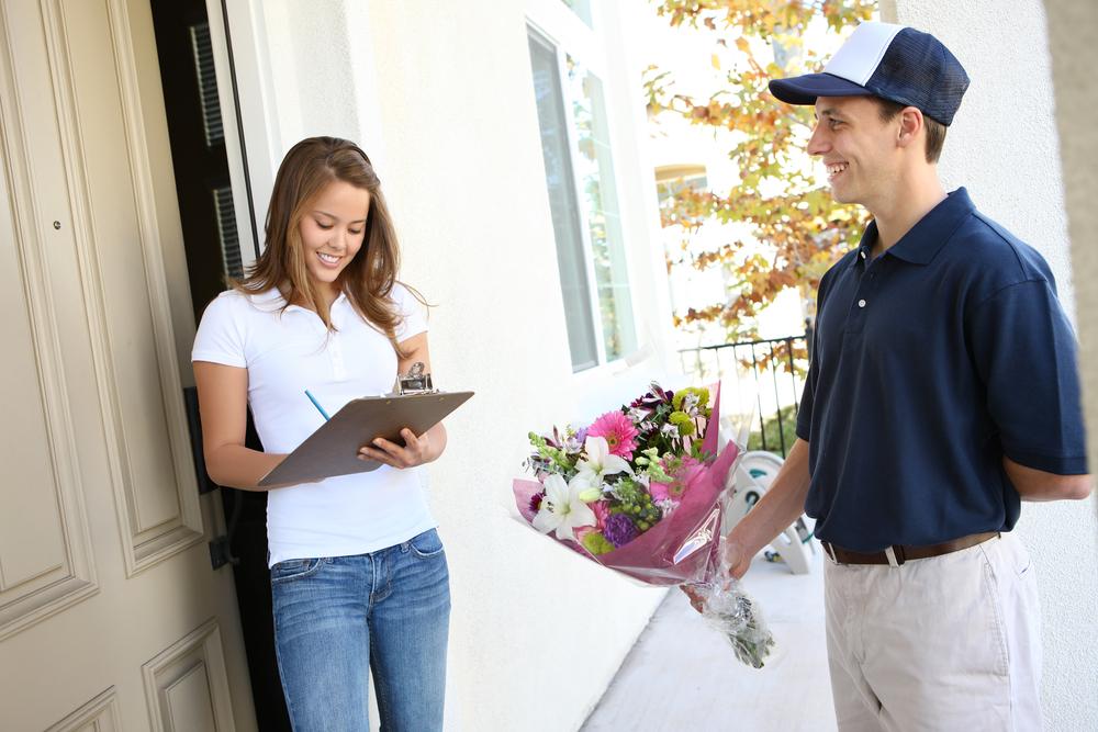 Услуга по доставке цветов - основные правила