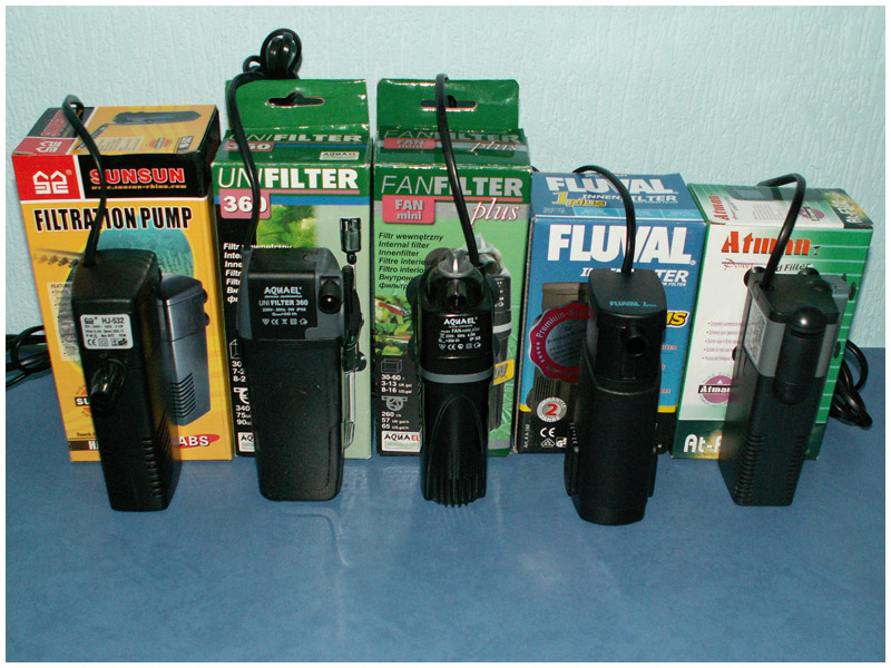 Чем хороши внешние аквариумные фильтры
