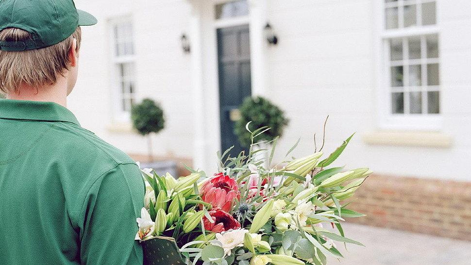 Яркая доставка цветов в Полтаве и свадебная флористика на церемонию